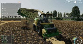 Подборщик KRONE EASY FLOW 300S V1.0.0.0 для Farming Simulator 2019