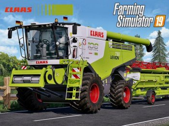 Пак CLAAS LEXION 700 SERIES FULL PACK V4.0 для Farming Simulator 2019