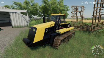 Трактор CAT CHALLENGER 75C V1.0.0.0 для Farming Simulator 2019