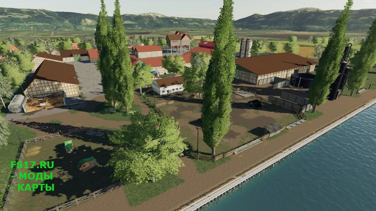 Карта SUEDHEMMERN MAP MULTIFRUIT V1.5.0 для Farming Simulator 2019
