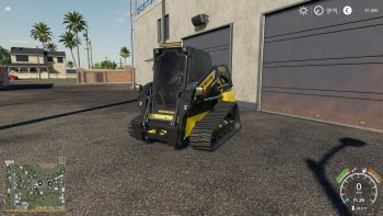 Погрузчик NEW HOLLAND C232 V1.0.0.0 для Farming Simulator 2019