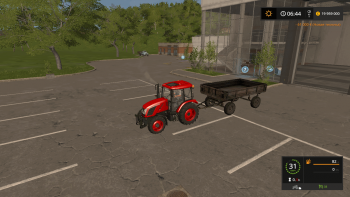 Прицеп 2 ПТС 4 v 1.1 для Farming Simulator 2017