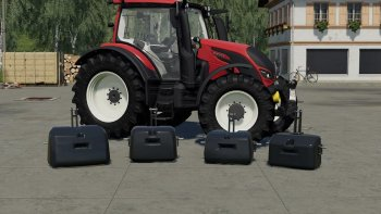 Пак противовесов TENWINKEL FP PACKAGE V1.0.0.0 для Farming Simulator 2019