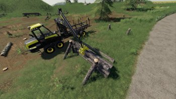 Пак WOODEN SUPPORT / STORAGE V1.0.0.1 для Farming Simulator 2019