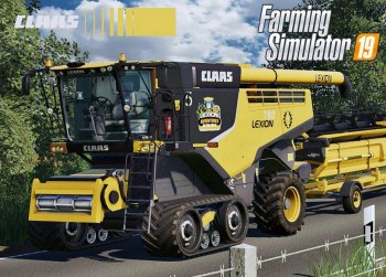 Пак CLAAS LEXION 700 SERIES USA EDITION V1.0 для Farming Simulator 2019