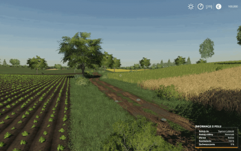 Карта LIPINKI MAP V1.0.0.1 для Farming Simulator 2019