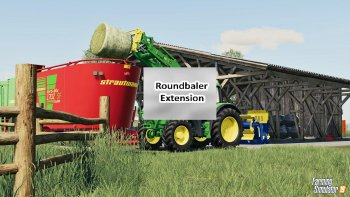 Скрипт ROUND BALER EXTENSION V1.0 для Farming Simulator 2019