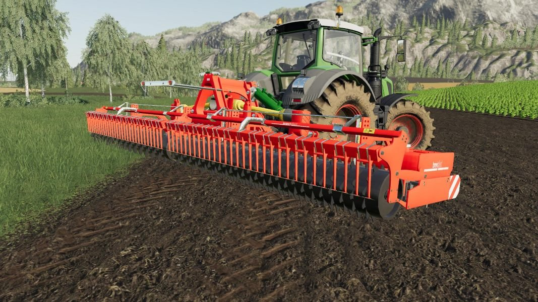 Культиватор BREVIGLIERI TEKNOFOLD 450 800 V1.1.0.0 для Farming Simulator 2019