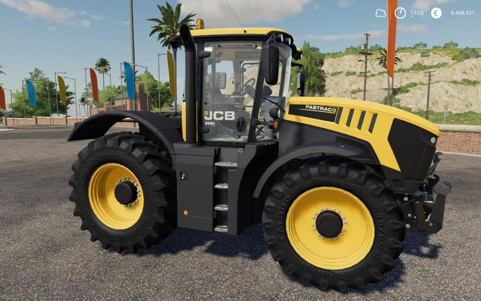 Трактор JCB FASTRAC 8000 SERIE V1.1.0.0 для Farming Simulator 2019