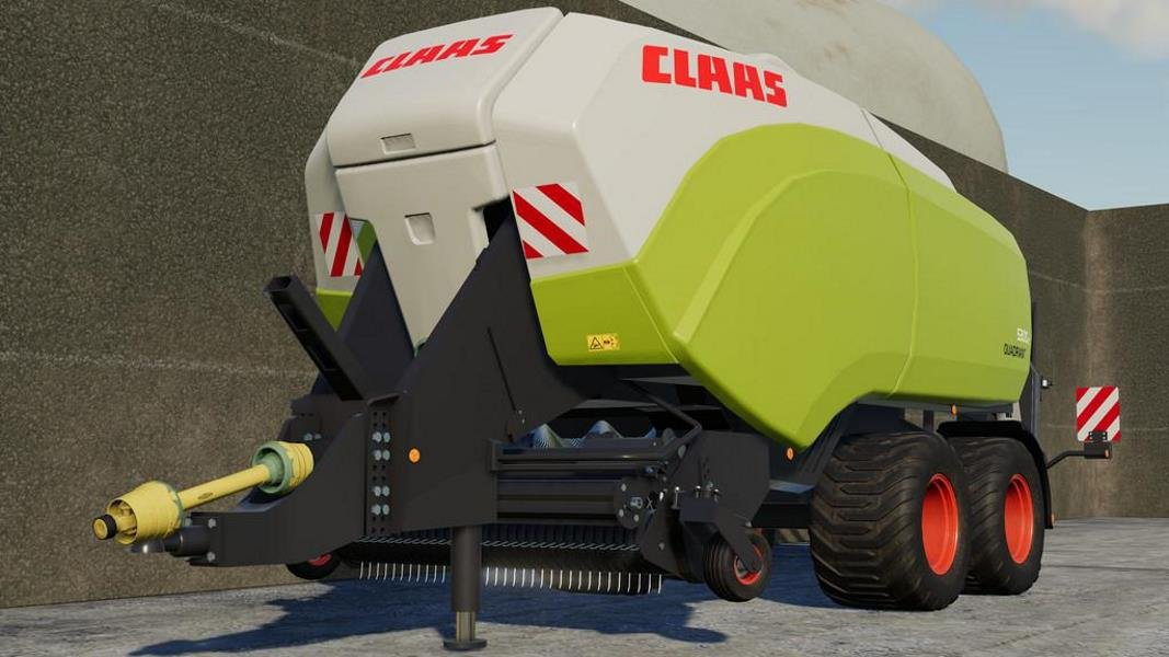 Тюкопресс CLAAS QUADRANT 5300 FC V1.0.0.1 для Farming Simulator 2019