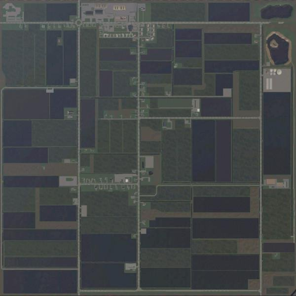 Карта Hollandscheveld map v 1.1 для Farming Simulator 2019
