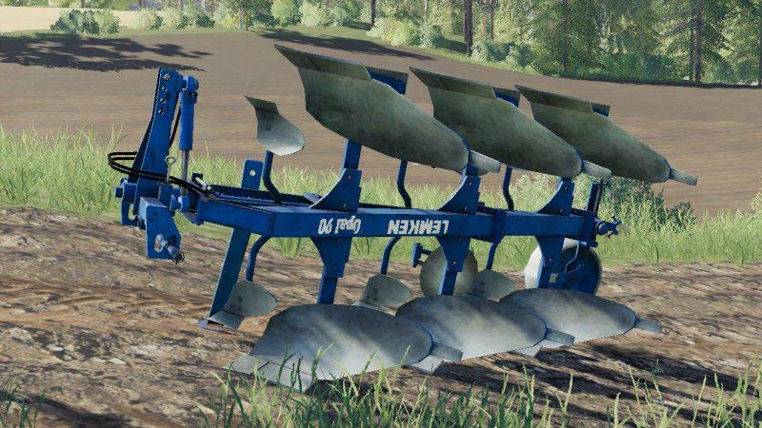 Плуг LEMKEN OPAL 90 V1.0.0.0 для Farming Simulator 2019