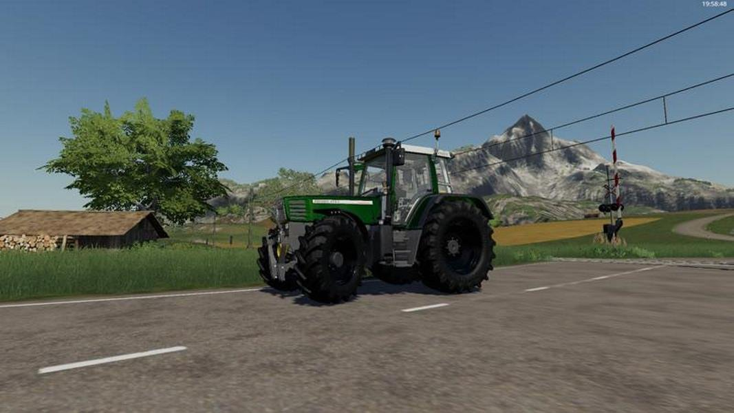 Трактор FENDT FAVORIT 500C (NEW SOUND) V1.0 для Farming Simulator 2019