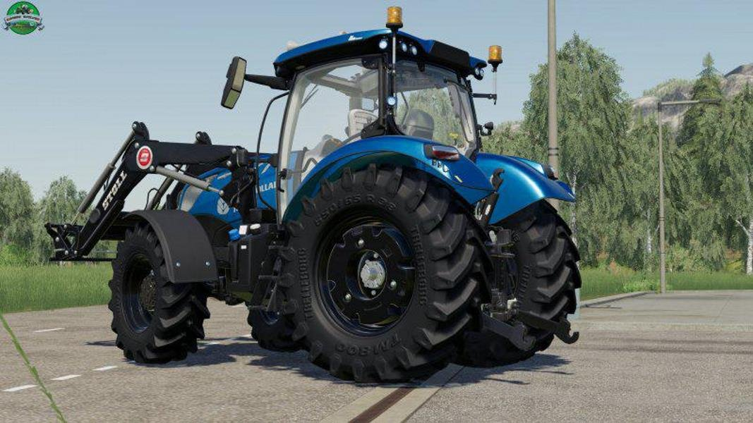 Трактор NEW HOLLAND T6 BLUE POWER V1.0  для Farming Simulator 2019