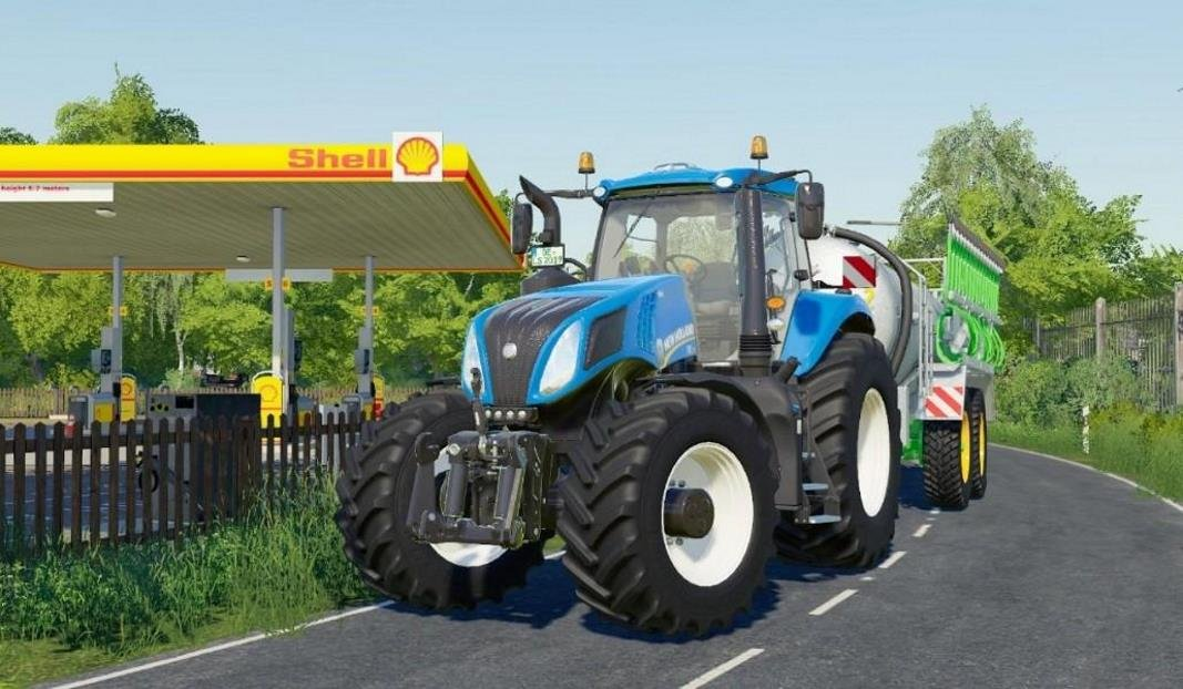 Трактор NEW HOLLAND T8 V1.0.4.0 для Farming Simulator 2019