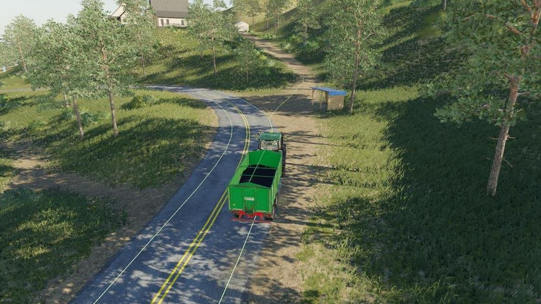Скрипт AUTODRIVE V1.0.1.9 для Farming Simulator 2019