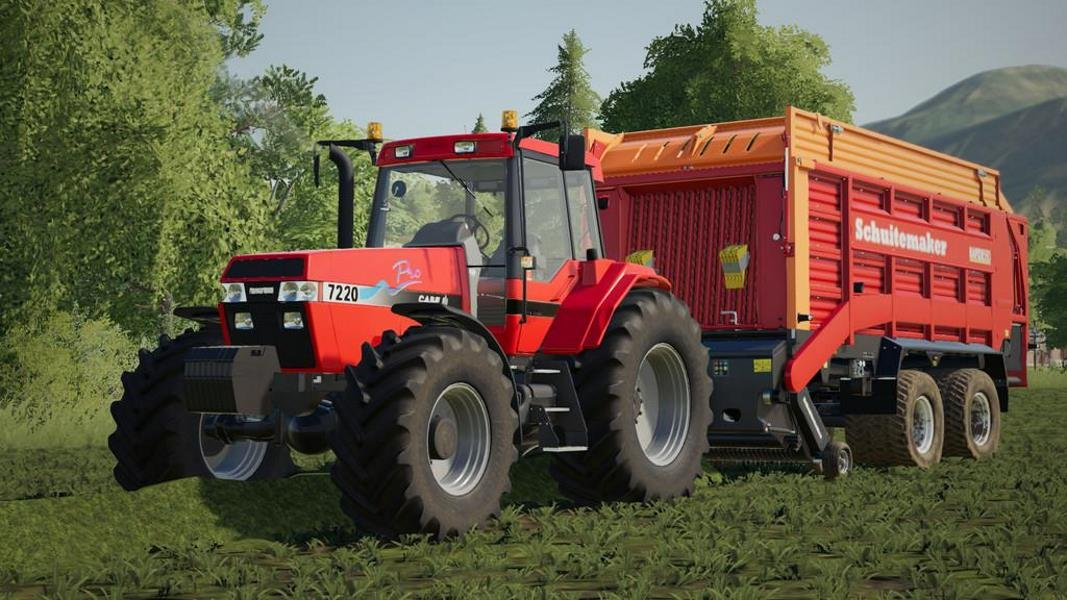 Трактор CASE IH 7200 SERIES V1.0.0.1 для Farming Simulator 2019