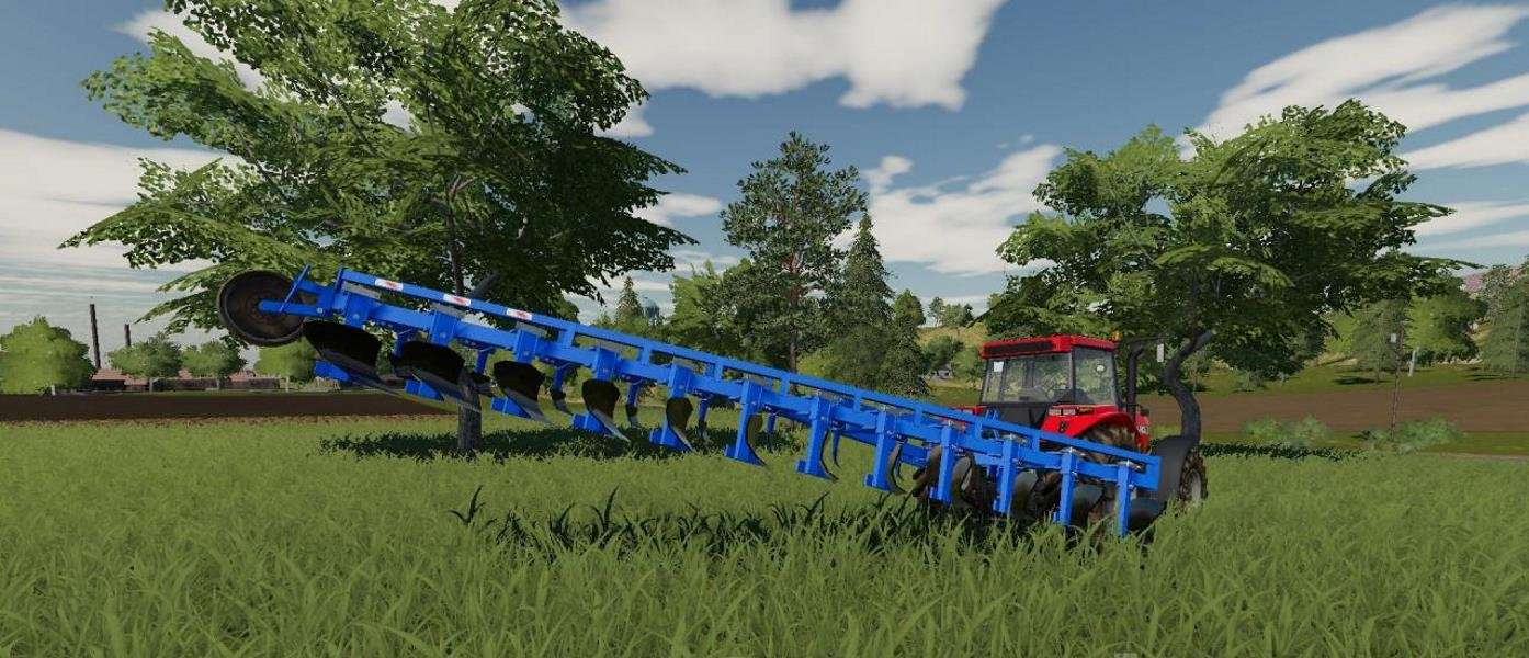 Плуг ПЛН 12х35 v 1.0 для Farming Simulator 2019