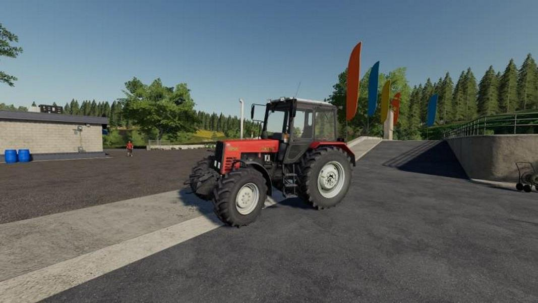 Трактор МТЗ 892 v 1.0 для Farming Simulator 2019