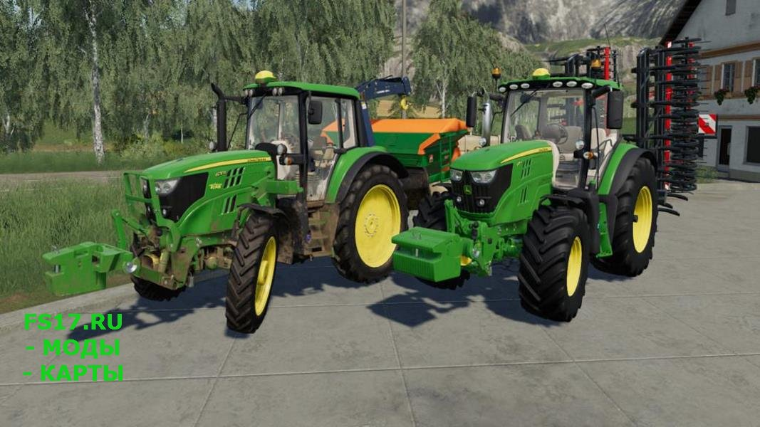 Противовес JOHN DEERE SLICE WEIGHT V1.0.0.0 для Farming Simulator 2019
