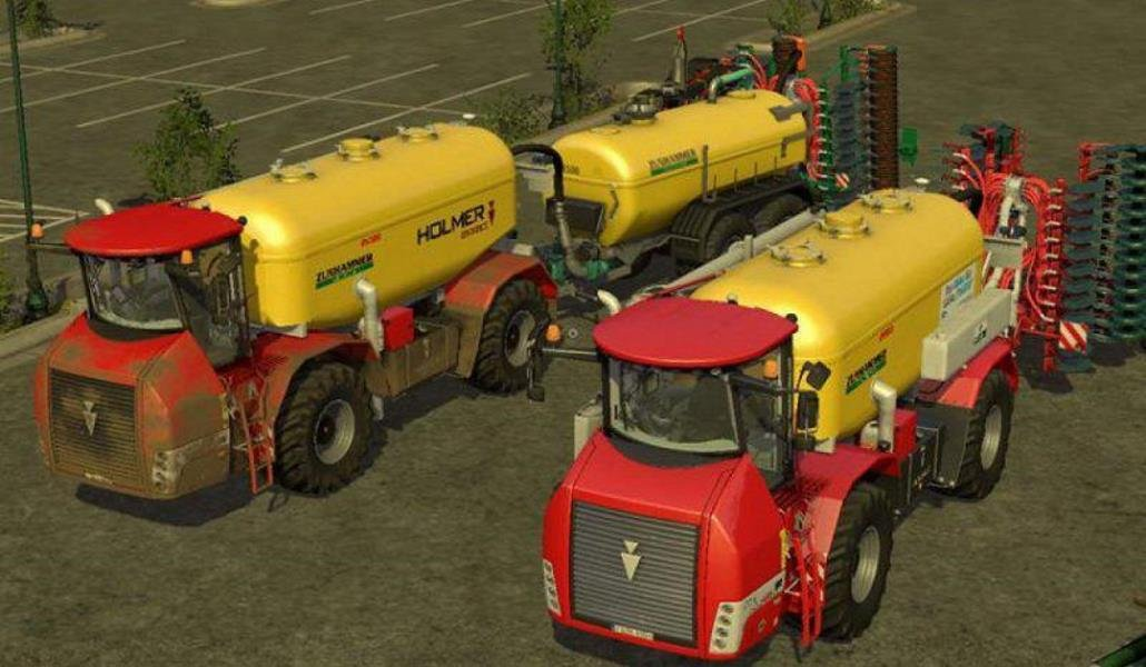 Пак HOLMER TERRA VARIANT 600 ECO PACK V1.0 для Farming Simulator 2019