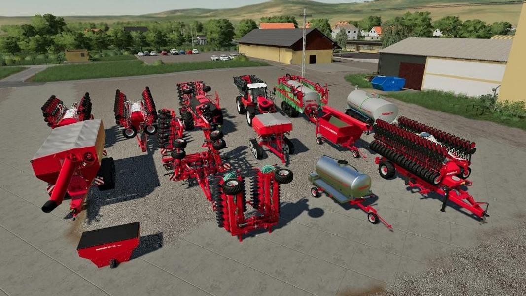 Пак HORSCH PACK V1.1.0.0 для Farming Simulator 2019