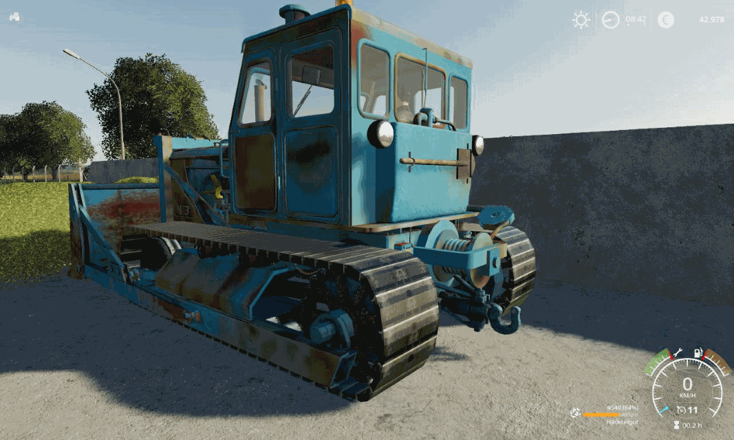 Пак T 100 RAUPE V2.0.0.0 для Farming Simulator 2019
