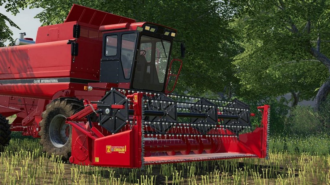 Жатка CASE IH 1030 18FT V1.0.0.0 для Farming Simulator 2019