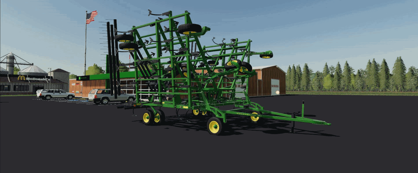Культиватор JOHN DEERE 2410 V1.0 для Farming Simulator 2019