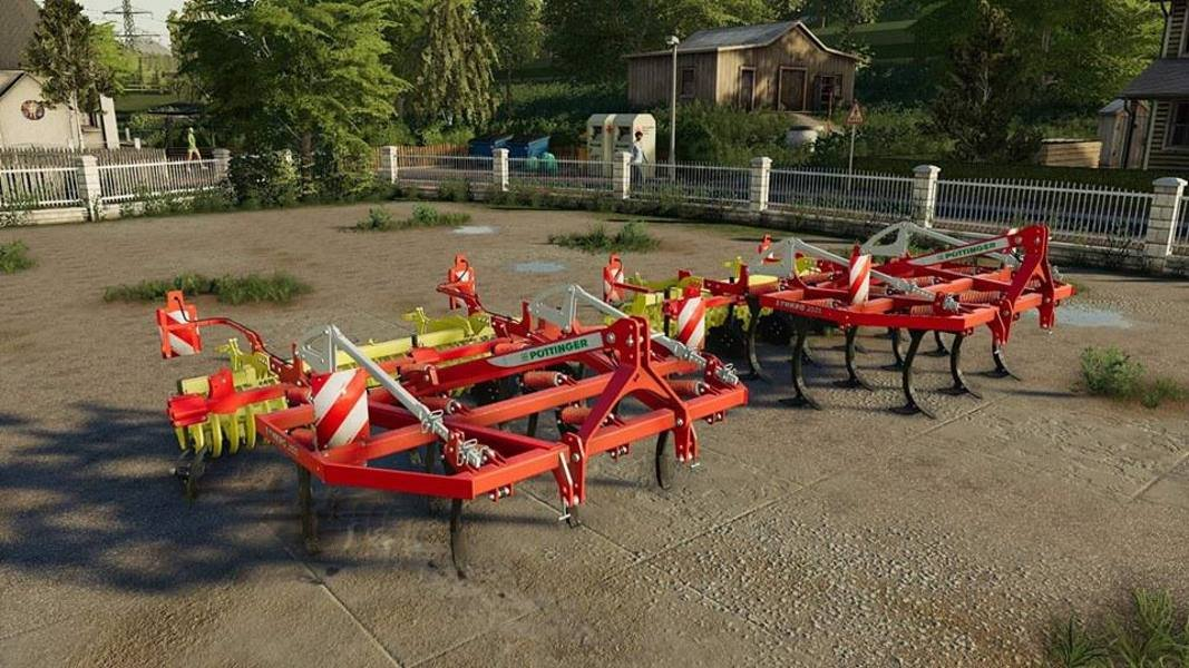 Культиватор POTTINGER SYNKRO 3030 V2.0 для Farming Simulator 2019