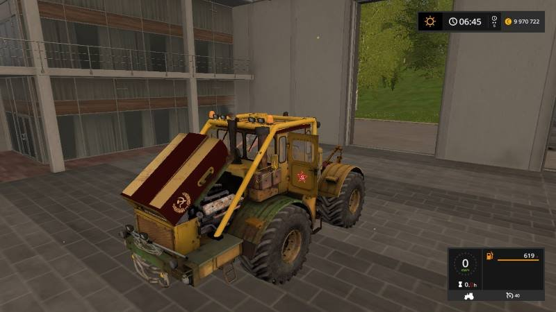 Трактор Кировец К 700 v 1.3 для Farming Simulator 2017