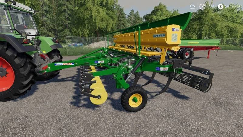 Сеялка TATU PST4 13 V1.0.0.0 для Farming Simulator 2019