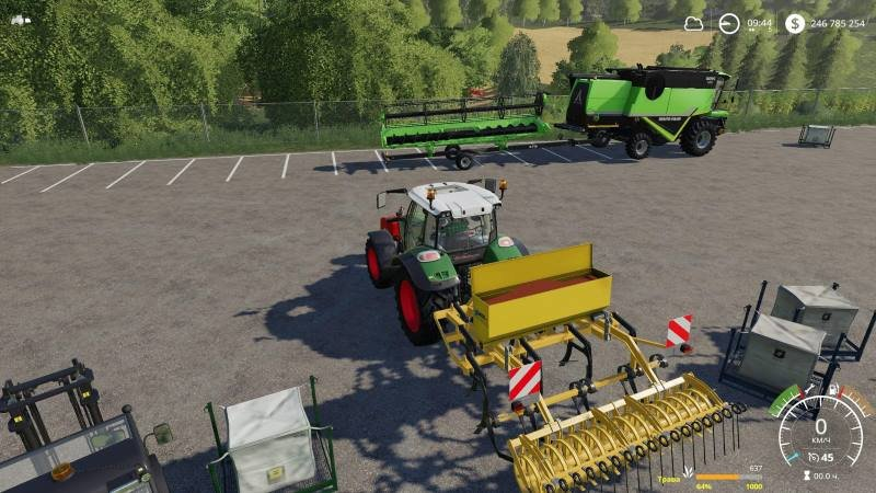 Сеялка AGRISEM STARTEC 3M V1.3 для Farming Simulator 2019