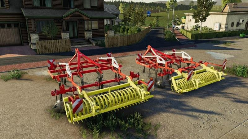 Культиватор POTTINGER SYNKRO 3030 V1.0.0.0 для Farming Simulator 2019