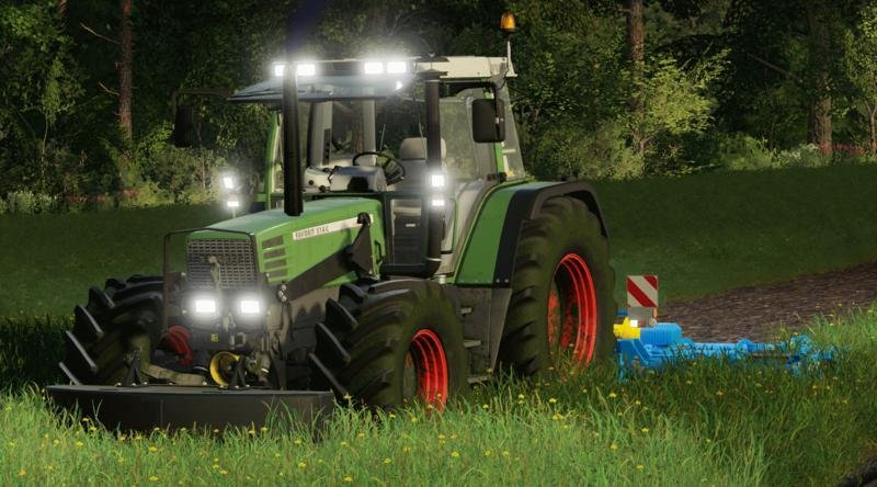 Пак тракторов [FBM TEAM] FENDT FAVORIT 51X V3.0.0.0 для Farming Simulator 2019