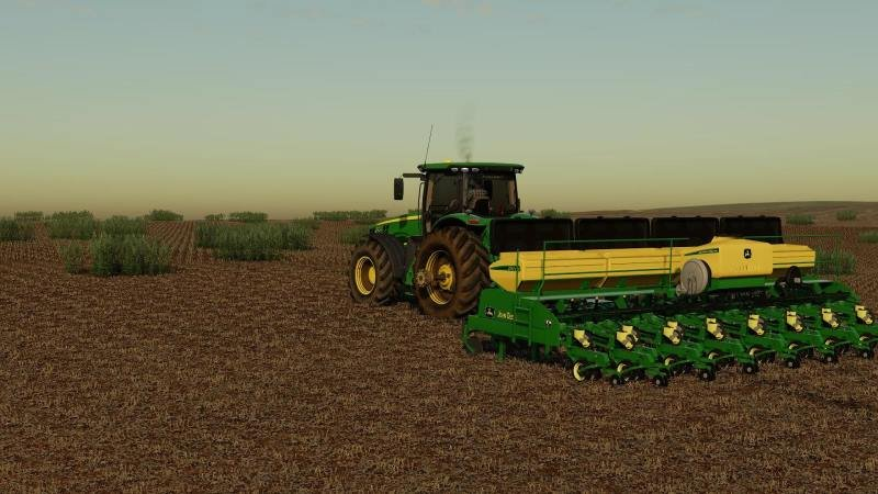 Сеялка JOHN DEERE CCS 2117 V1.0.0.0 для Farming Simulator 2019