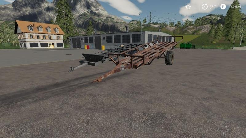 Пак прицепов для тюков HUNGARIAN HOMEMADE BALE TRAILER PACK V1.0 для Farming Simulator 2019