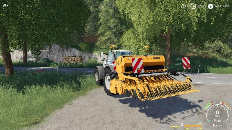 Сеялка KUBOTA MD1400MP V1.0.0.0 для Farming Simulator 2019