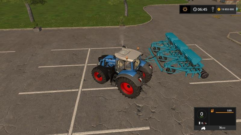 Сеялка 3-СЗC-2.1 v 0.1 для Farming Simulator 2017