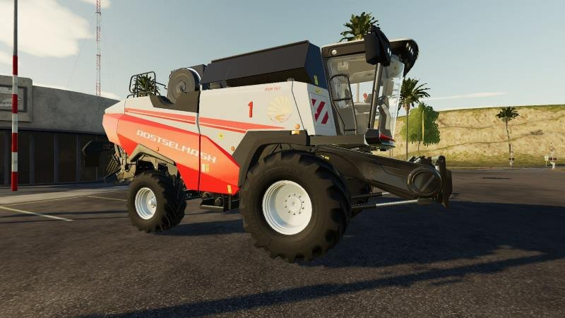 Комбайн РСМ 161 v 1.0 для Farming Simulator 2019