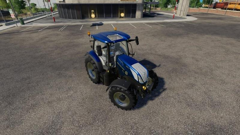 Трактор NEW HOLLAND T6 BLUE POWER V1.0.0.4 для Farming Simulator 2019