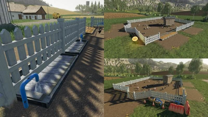 Скрипт ANIMAL PEN EXTENSION V1.0.1.0 для Farming Simulator 2019