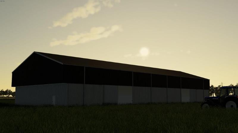 Гараж CROP STORAGE V1.0.0.0 для Farming Simulator 2019