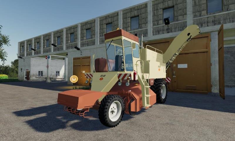 Комбайн FORTSCHRITT KS6 V1.0 для Farming Simulator 2019