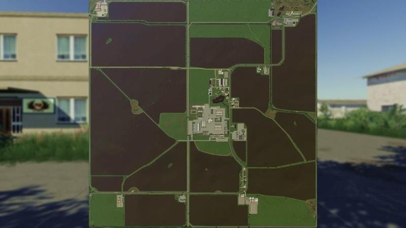 Карта PGR SLIWNO V1.2.0.0 для Farming Simulator 2019