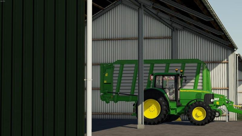 Пак навесов MACHINESHEDS V1.0.0.0 для Farming Simulator 2019