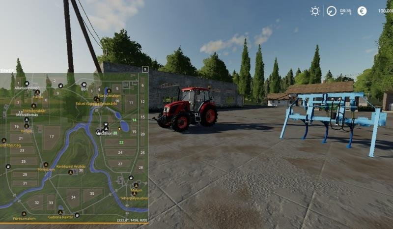 Карта Sosnovka Hun Beta V1_By:Tommy68  для Farming Simulator 2019