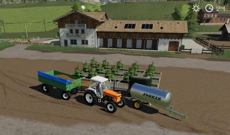 Яблоневый сад APPLE ORCHARD, PLACEABLE V1.0 для Farming Simulator 2019