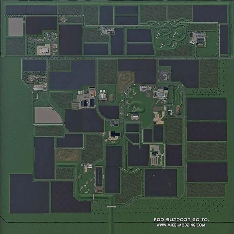 Карта PUUR NEDERLAND V2.1.0.0 для Farming Simulator 2019