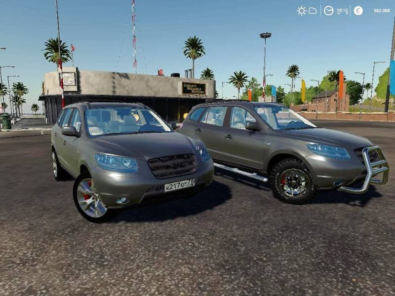 Автомобиль HYUNDAI SANTA FE II V1.0 для Farming Simulator 2019